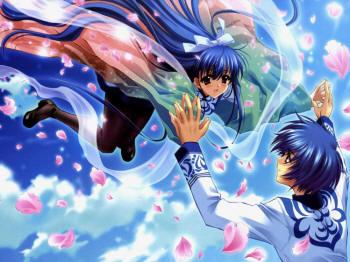 Красивая аниме любовь принцесса